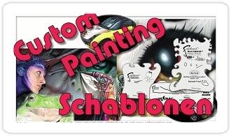 Bodypainting Schablonen